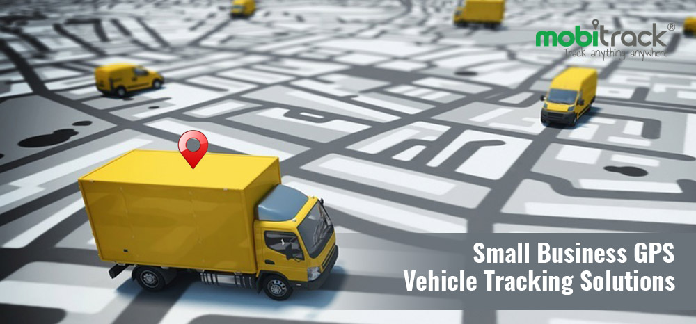 Small Business GPS Vehicle Tracking Solutions